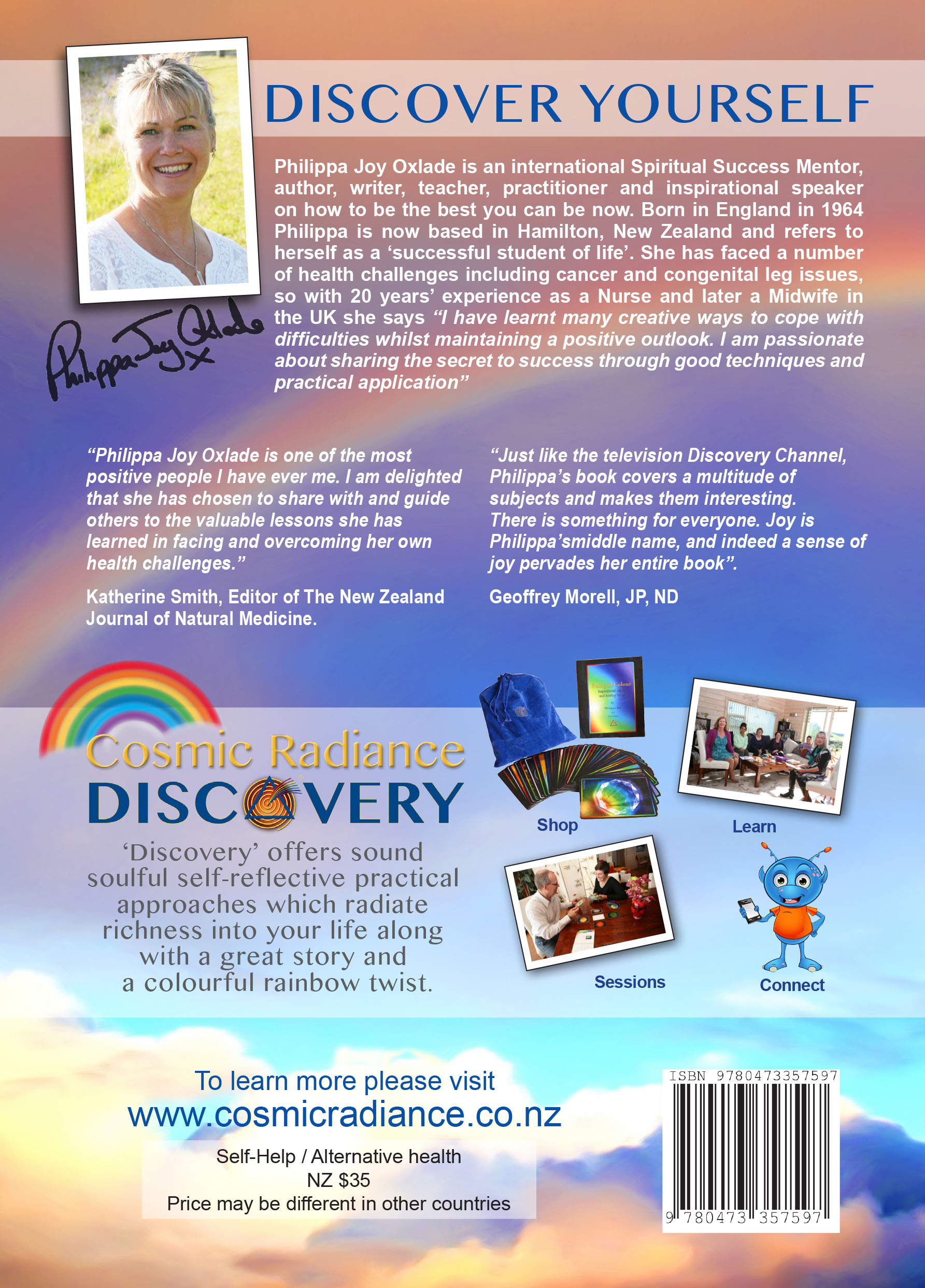 DISCOVERY Back Cover